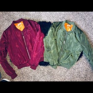 2 Bomber Jackets For The Price Of 1 !! 😍🔥